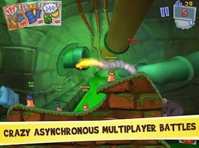 Worms 3 Mod Apk OBB