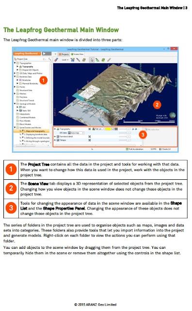 Tutorial Leapfrog Geothermal v3.2 Lengkap Data Panduan
