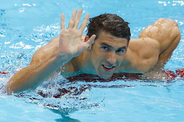 Michael Phelps el mejor nadador de la historia