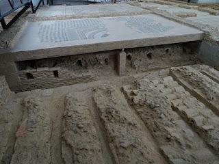 Hypocaustum de galerías subterráneas. Villa de la Tejada