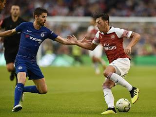 نتيجة واهداف مباراة ارسنال وتشيلسي 2-0 اليوم 19/1/2019 الدورى الإنجليزي Arsenal vs Chelsea