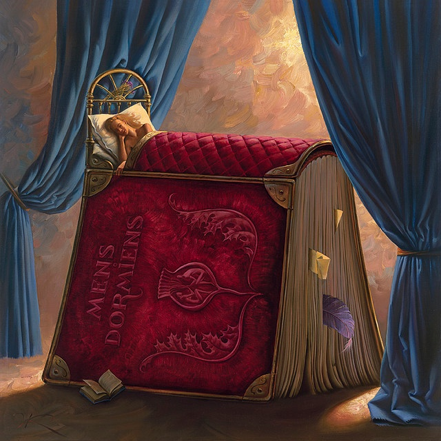 Vladimir Kush: Pillow Book - 'Mens Dormiens'