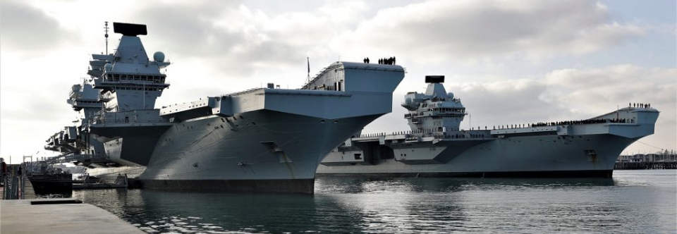 Британський військовий флот поповнився другим авіаносцем