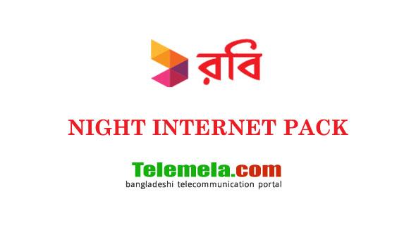 Robi Night Internet Pack
