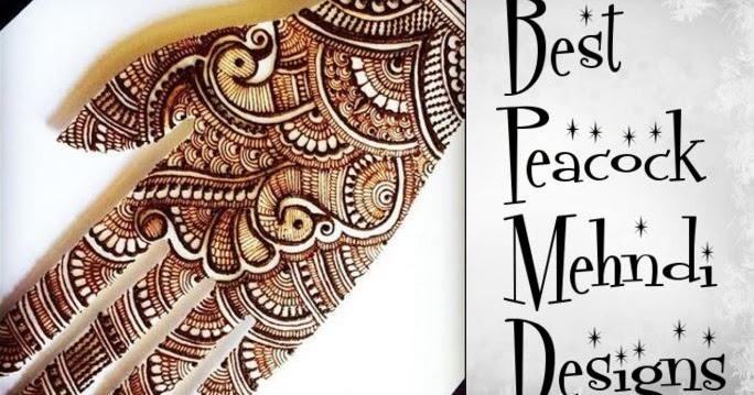 Mehndi Peacock Designs Drawings : Best peacock henna mehndi designs bling sparkle