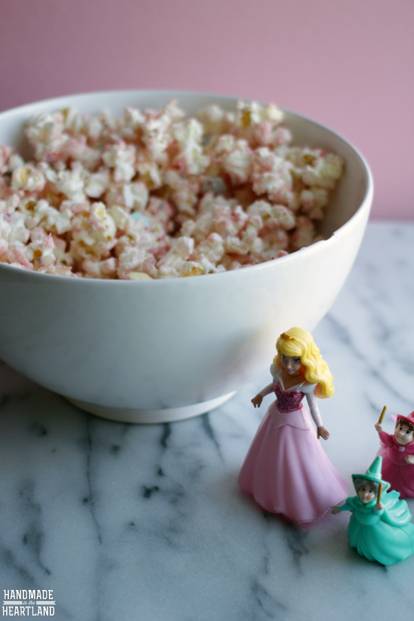 Princess Popcorn Recipe #DisneyBeauties #shop #CollectiveBias