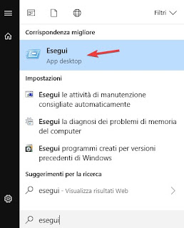 Esegui su Windows