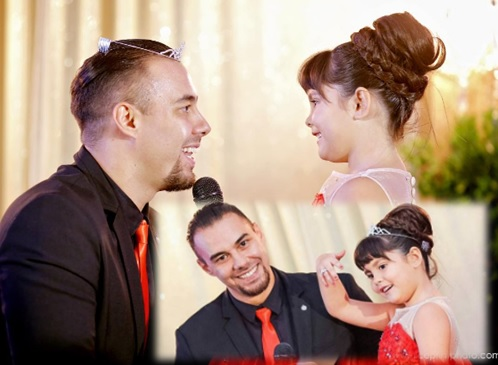Doug Kramer and daughter Kendra shared a heartwarming moment at #KendraSuperstarAt7