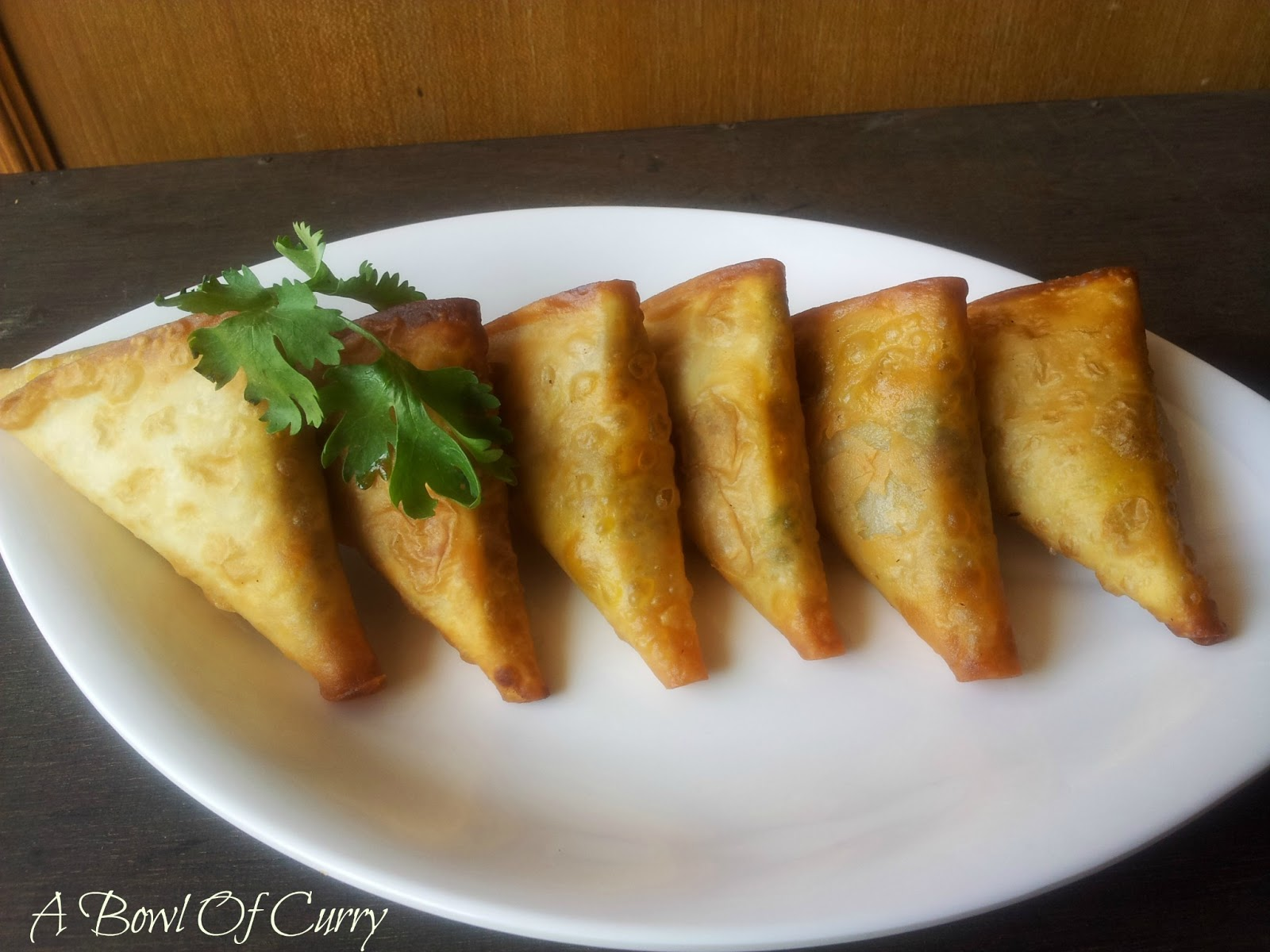 A Bowl Of Curry: Chicken Samosa