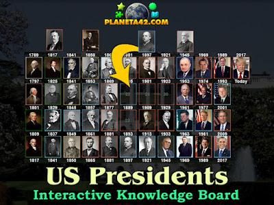 Американските Президенти Супер Голям Пъзел