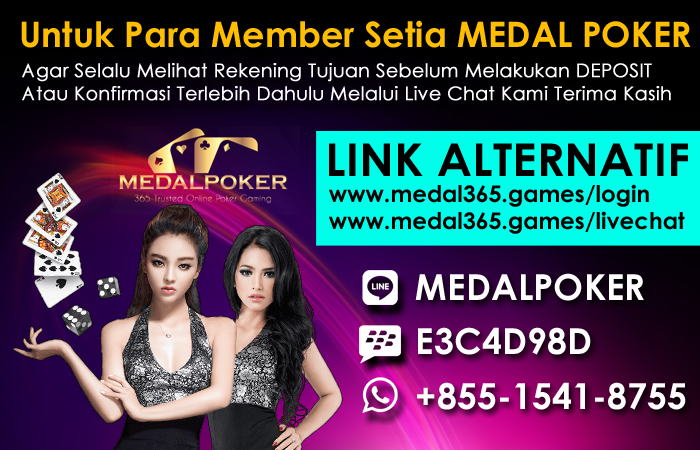 MEDALPOKER : Link Alternatif Resmi dan Login MEDAL POKER