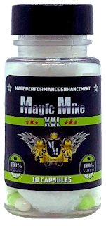 Magic Mike XXL Male Enhancement 10 Capsule Bottle