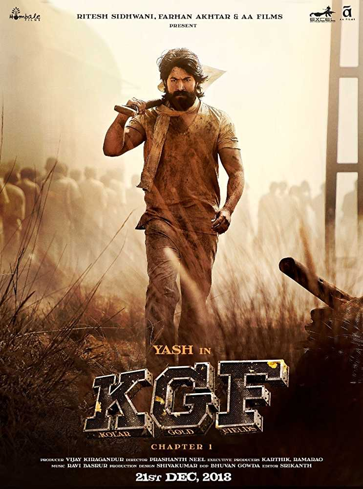K.G.F. Chapter 1 2018 Full Movie Download HDRip 720p Multi Audio | G-Drive Link | Watch Online