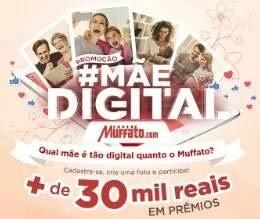 Cadastrar Promoção Mãe Digital Super Muffato Dia das Mães 2019 - Enviar Foto