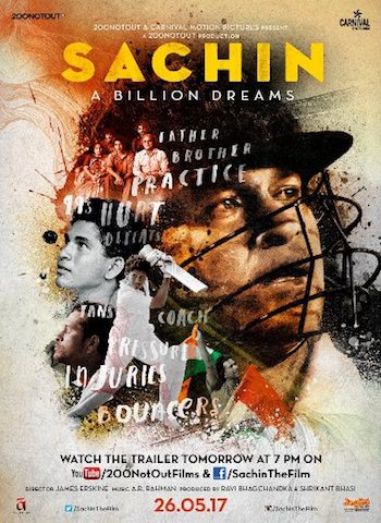 Sachin A Billion Dreams 2017 Official Trailer
