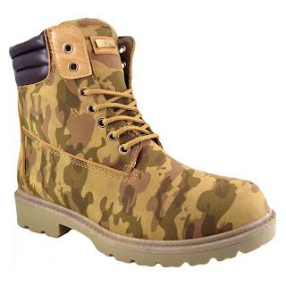 Bocanci stil militar camel pentru  barbati -cumpara aici