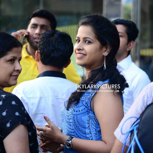 Sadhika Venugopal Latest Photos At Kochi Marriot Hotel