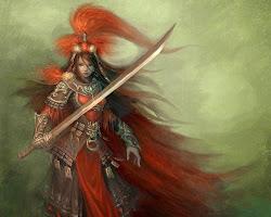 warrior mythical sword hd wallpapers fantasy digital 3d desktop