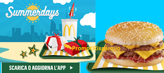 Logo McDonald's SummerDays: vinci viaggi a New York, Miami e iPhone7 e Fiat 500