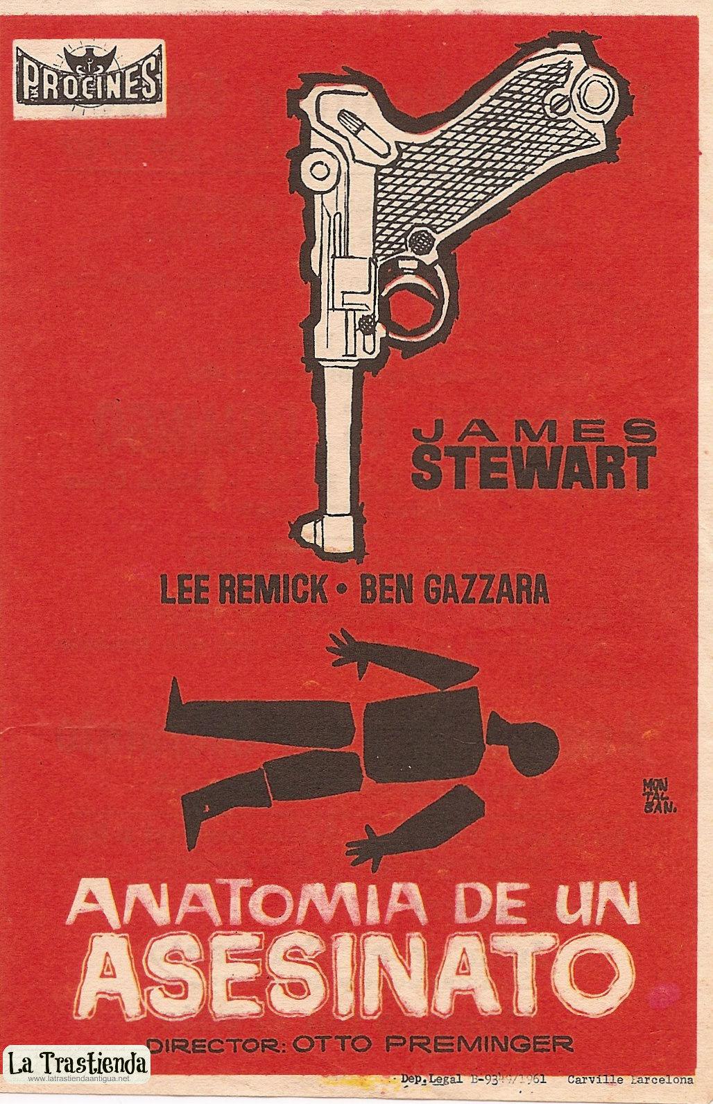 Anatoma de un asesinato Movie posters Carteles de cine