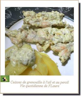 Vie quotidienne de FLaure : Cuisses de grenouille à l'ail et au persil