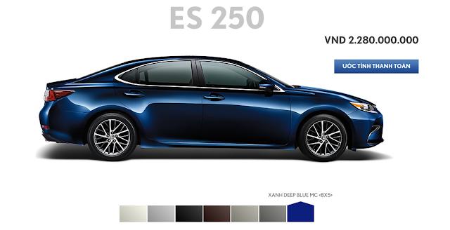 Screen%2BShot%2B2016 02 19%2Bat%2B21.19.29 -  - Đánh giá sedan hạng sang Lexus ES 250 2016 : Tinh hoa của sự sang trọng