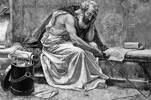 Archimedes-painting-illustration-mathematician