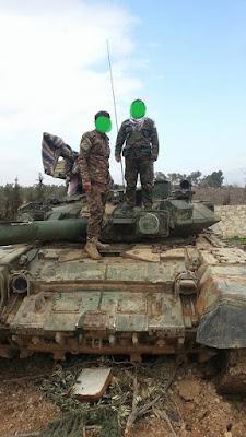 Τ-90 της Kata'ib Sayyid al-Shuhada