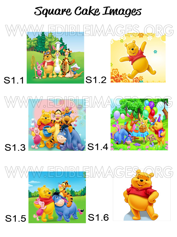 Edible Image Winnie The pooh