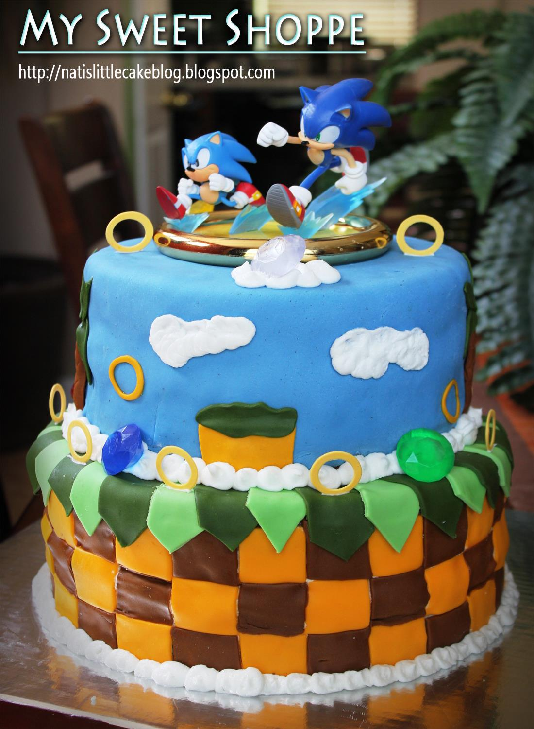 Coolest Sonic The Hedgehog Cake Birthday Cakes
