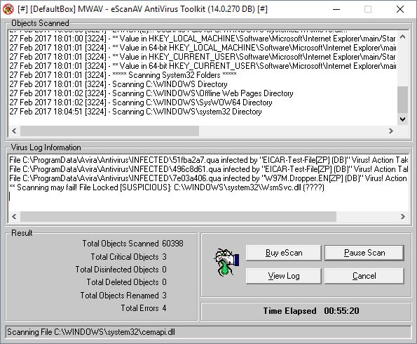 MicroWorld MWAV eScanAV Anti-Virus Toolkit | Supratim Sanyal's Blog
