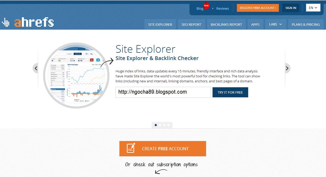 Hướng dẫn sử dụng công cụ Ahrefs để phân tích đối thủ (P1)   Blog tự
