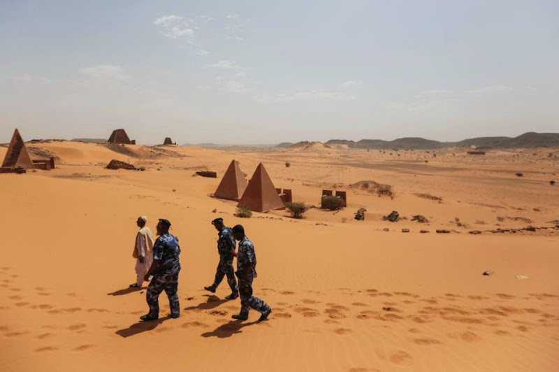 Sudan's pyramids, nearly as grand as Egypt's, go unvisited