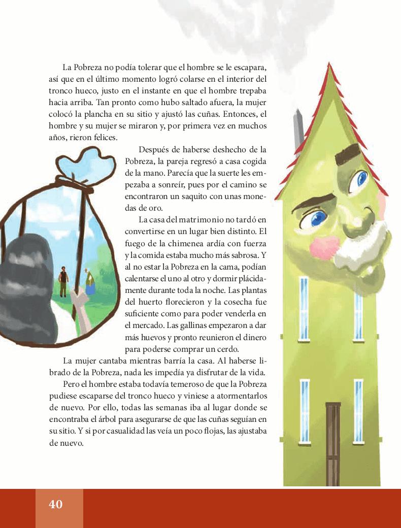 La pobreza espa ol lecturas 6to apoyo primaria for Espanol lecturas cuarto grado 1993
