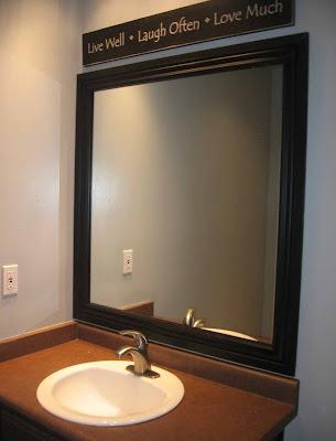 Desain Kaca Cermin Untuk Kamar Mandi  Gambar Rumah Idaman