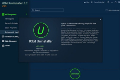 Download Iobit Uninstaller v5.3.0.138 Terbaru