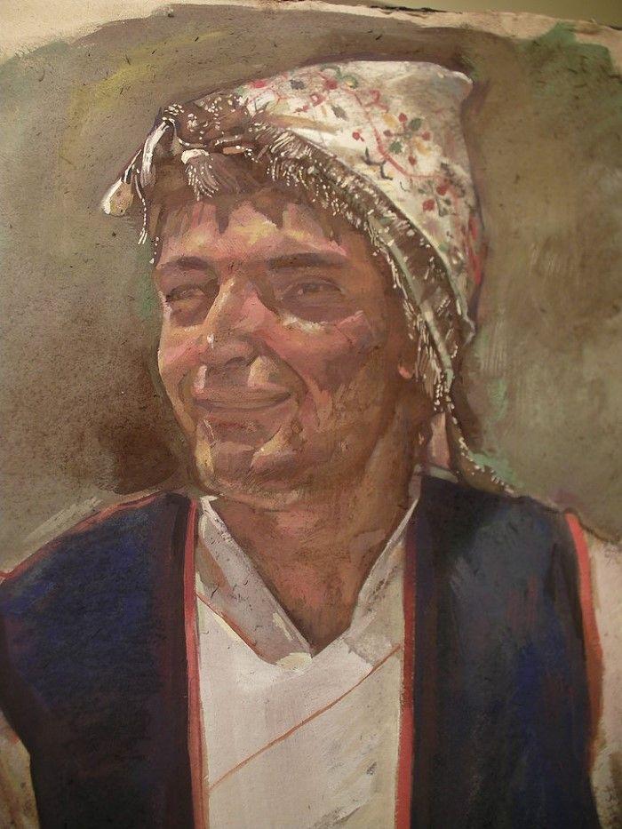 Современный греческий художник. Nikos Stratakis