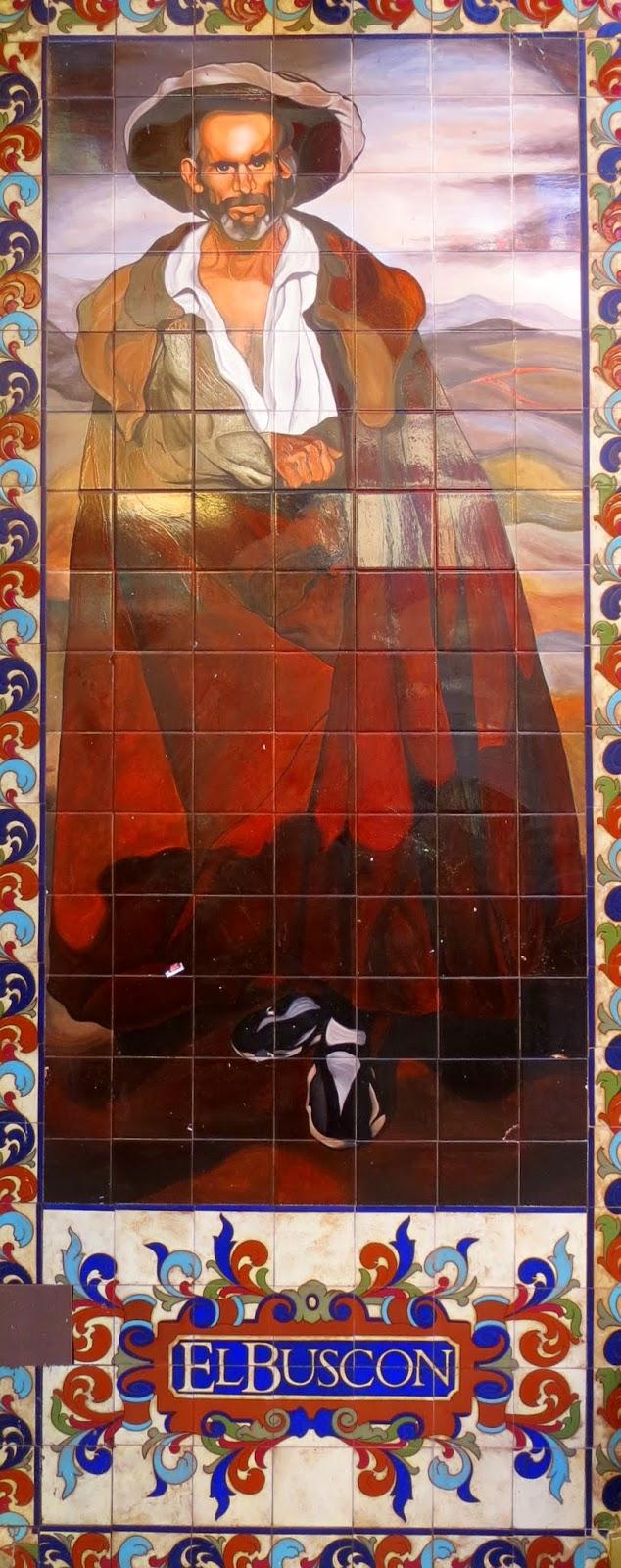 Calle Victoria, 5. azulejos Adolfo Montes Alvaredo