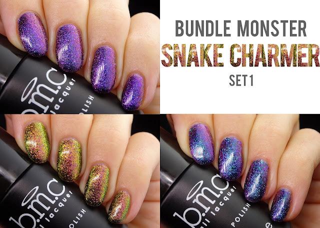 Bundle Monster Snake Charmer set 1
