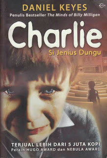 cover buku Charlie si jenius dungu
