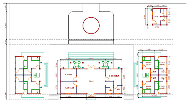 Jasa Desain Pondok Pesantren Minimalis di Purwakarta 2020