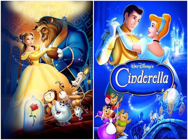 Movie Marathon | Disney Movies Part 1: Beauty and the Beast + Cinderella