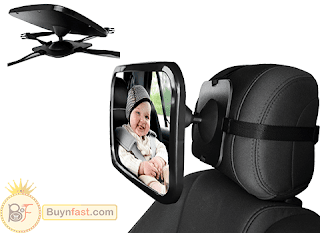 Perfect OxGord Baby Back Seat Mirror by OxGord