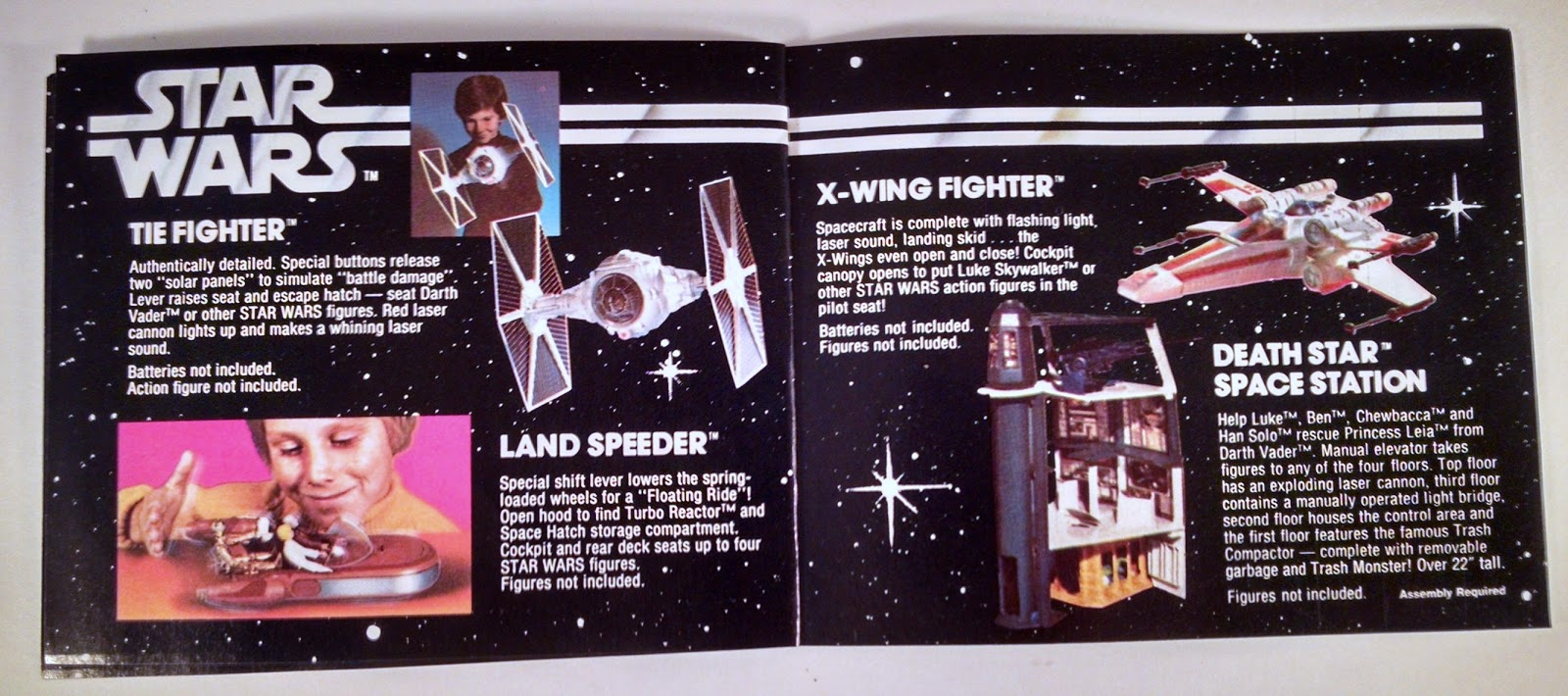 ISeeRobots: Star Wars Catalog I Found At The Bottom Of A Box
