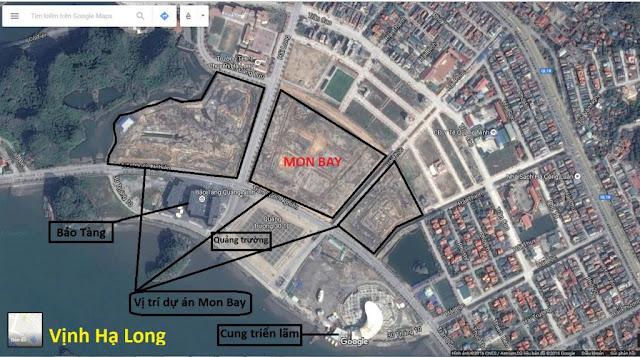 Vị trí đắc địa dự án Mon Bay Hạ Long