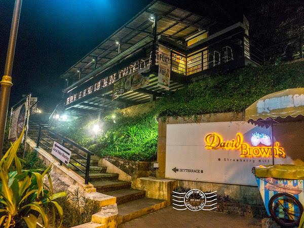 David Brown's Restaurant & Tea Terrace @ Penang Hill, Air Itam