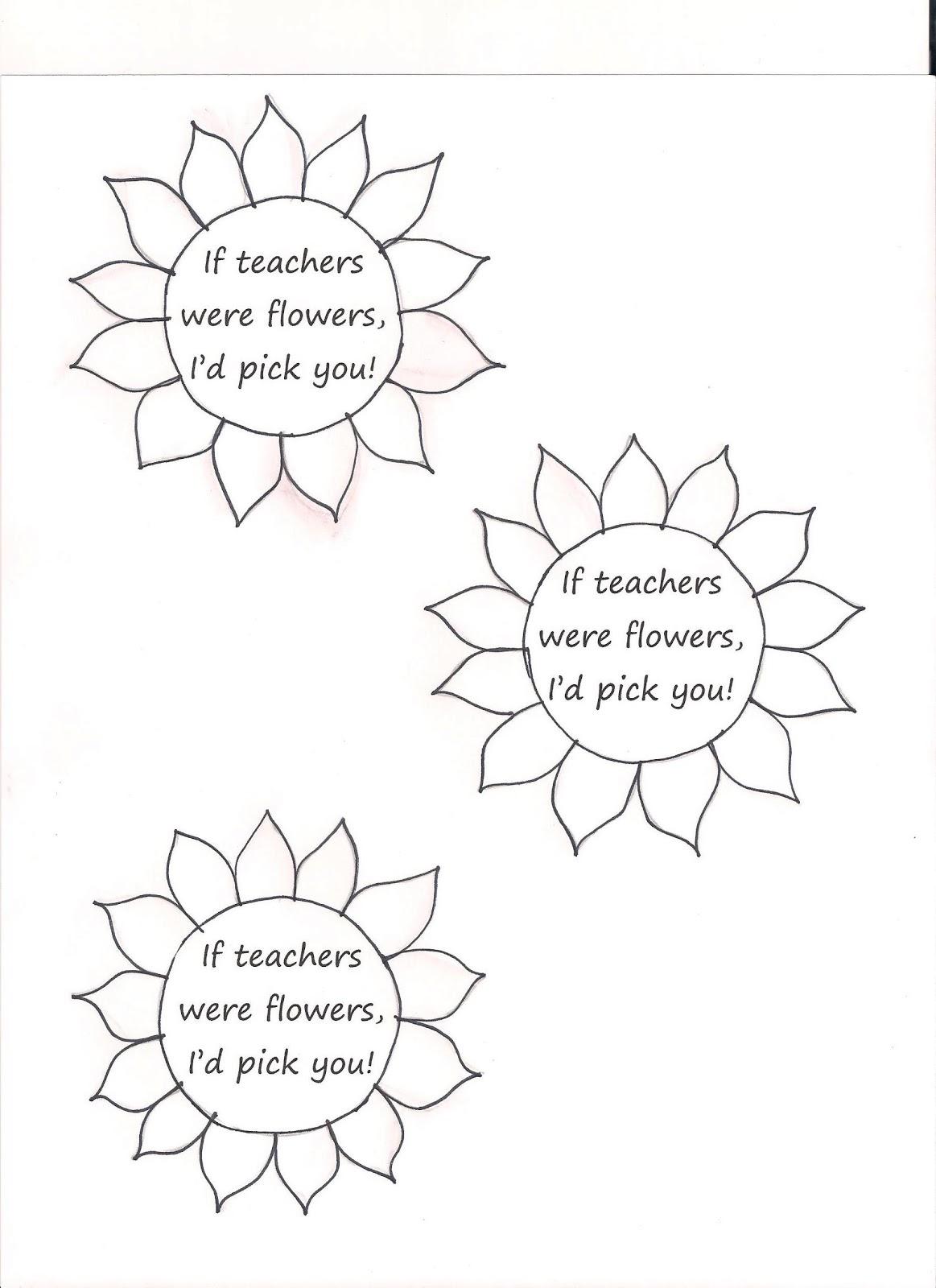 Ramblings of a Mother: Teacher Gifts: Flower Pots