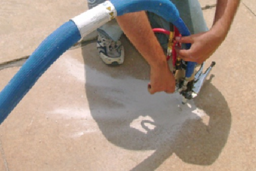Polyurethane Foam Injection provides a quick and efficient repair option  for slab foundation