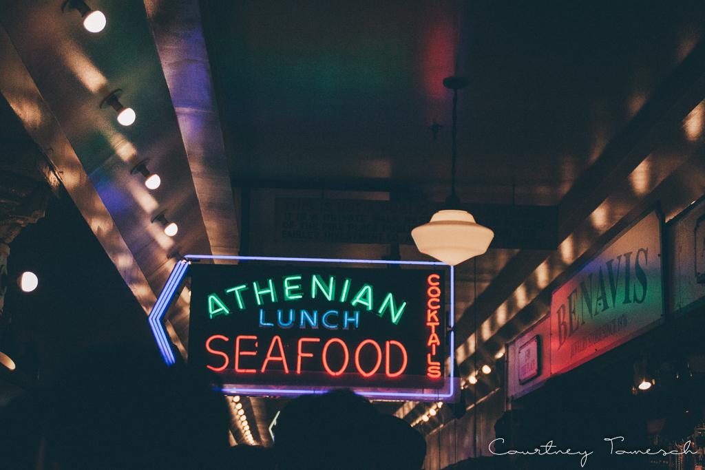 Courtney Tomesch Seattle Washington Pike Place Market