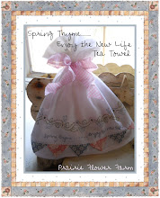 Free Spring Thyme...Enjoy the New Life Tea Towel